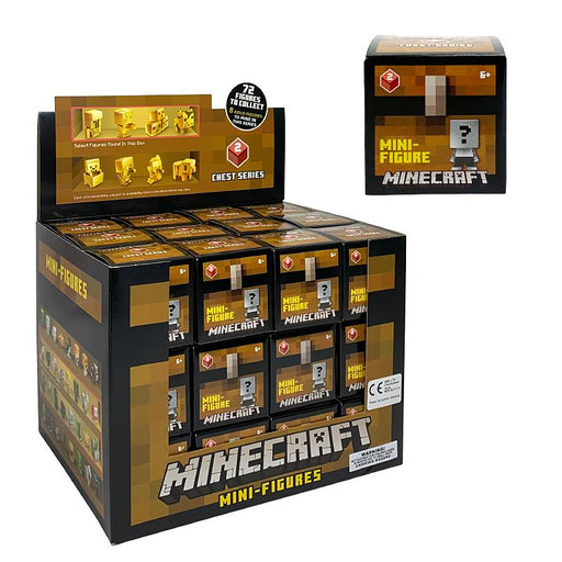 MINECRAFT CHEST SERIES 2 MINI FIGURE BLIND BOX