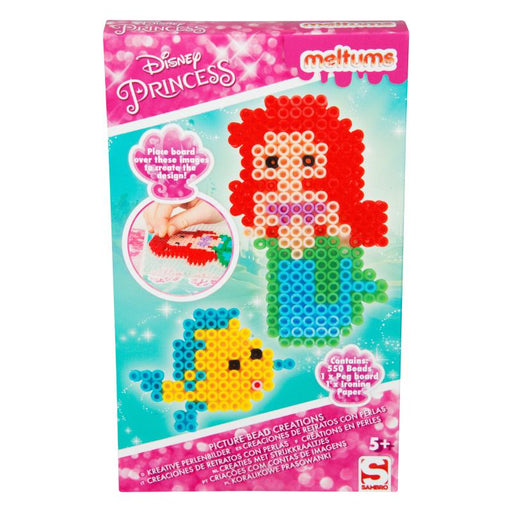 DISNEY PRINCESS MELTUMS 550PC BEAD CREATIONS SET