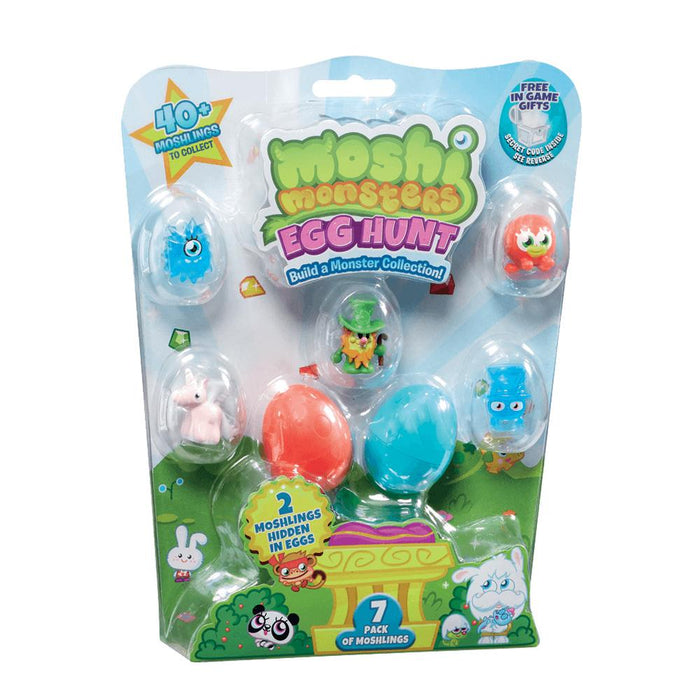 Moshi Monsters Egg Hunt 7pk