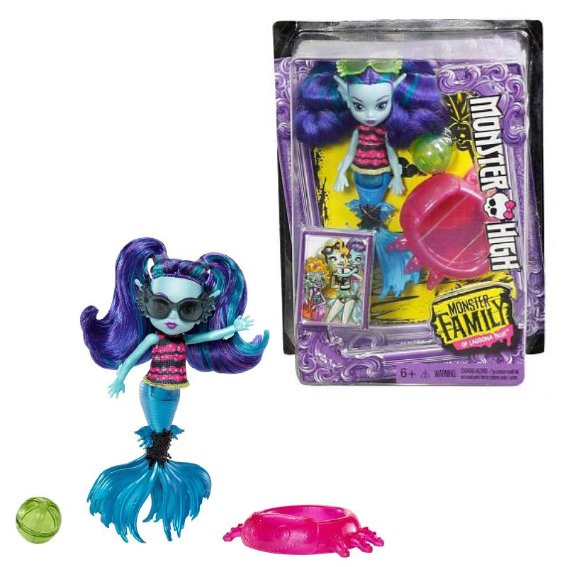 "MONSTER HIGH EBBIE BLUE 5.5"" FASHION DOLL TOY"