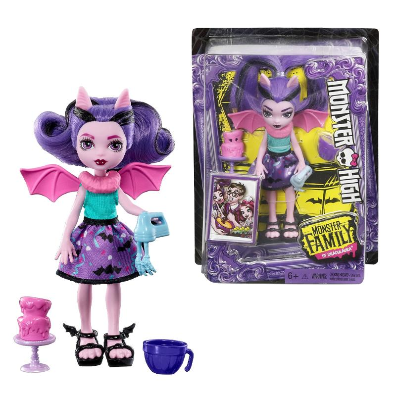 "MONSTER HIGH FANGELICA 5.5"" FASHION DOLL TOY"