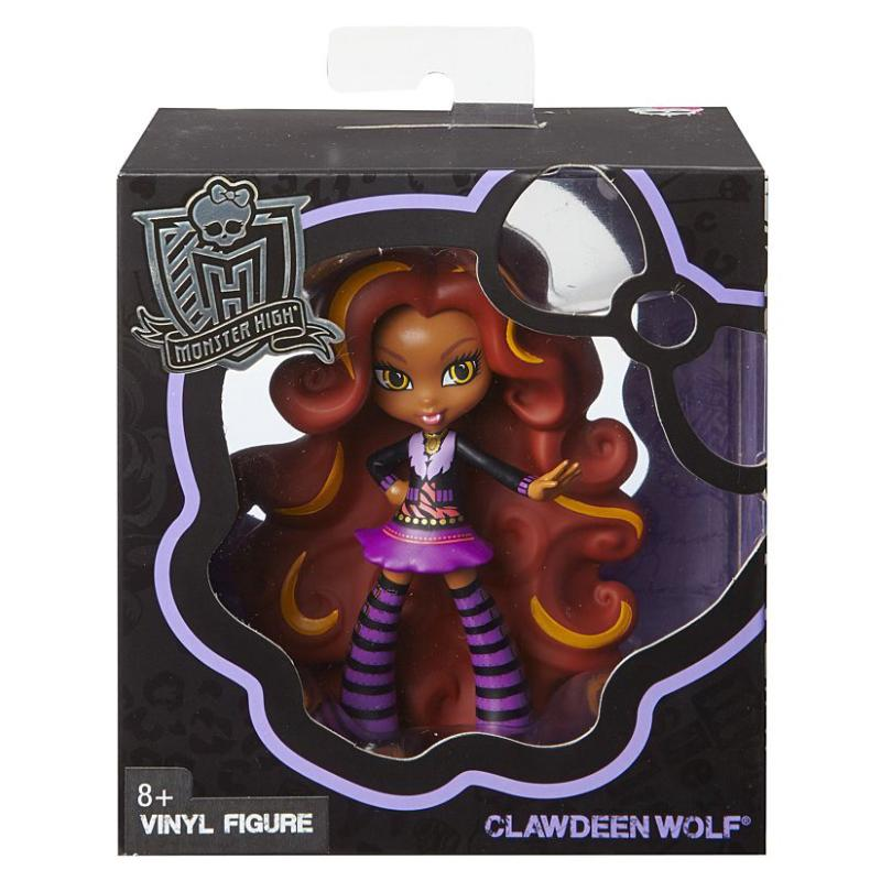 MONSTER HIGH VINYL FIGURE - CLAWDEEN WOLF