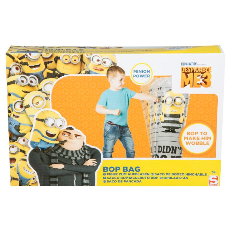 DESPICABLE ME MINIONS BOP BAG