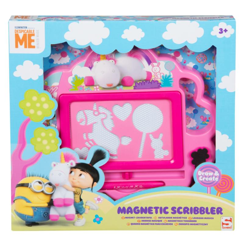 DESIPCABLE ME FLUFFY MAGNETIC SCRIBBLER