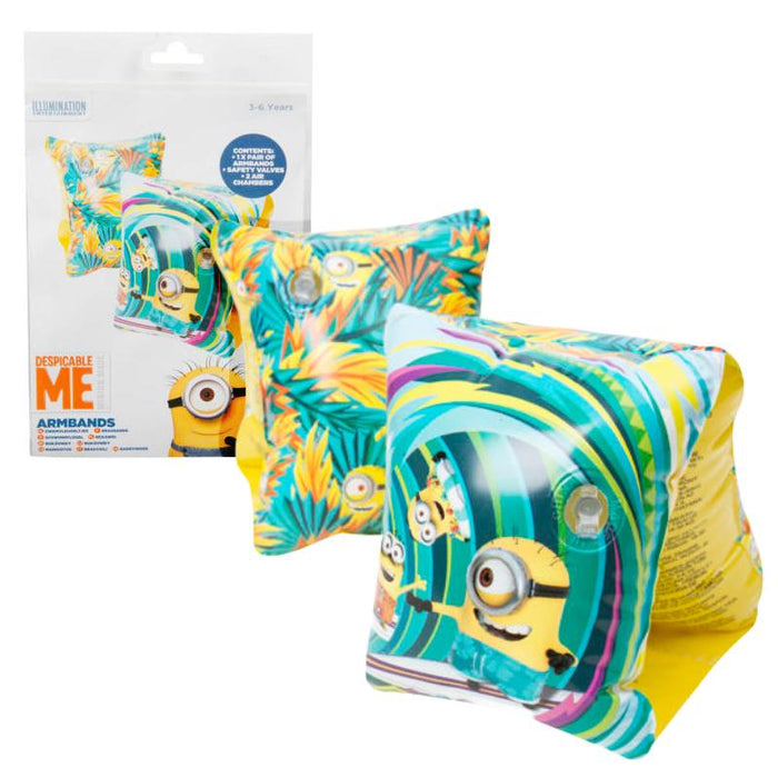 DESPICABLE ME MINIONS ARM BANDS