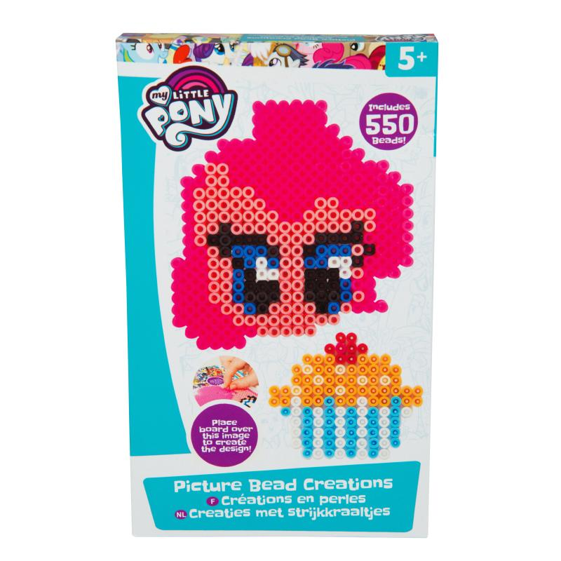 MY LITTLE PONY MELTUMS 550PC BEAD CREATIONS SET