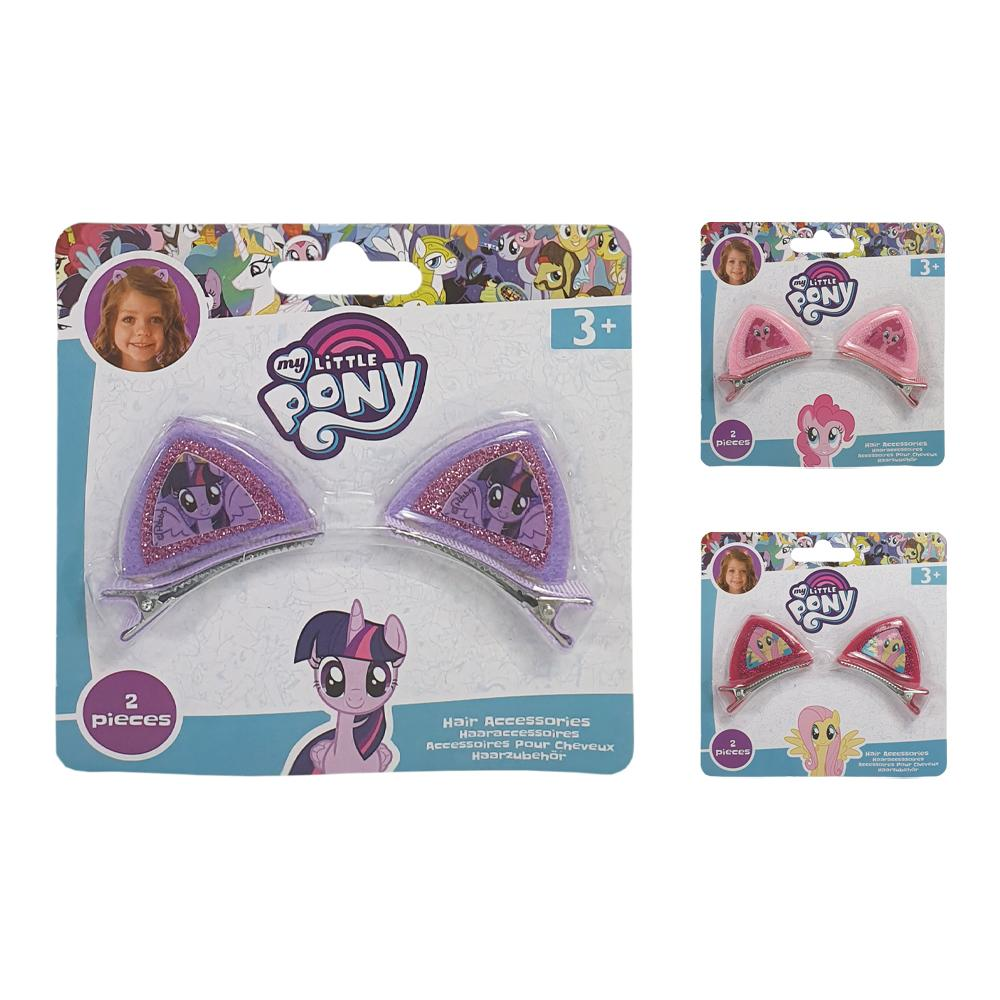 MY LITTLE PONY EAR HAIR CLIPS