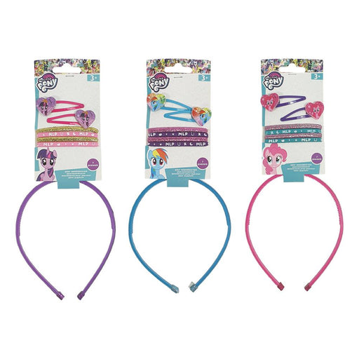 MY LITTLE PONY 7PC HAIR ACCESSORIES SET