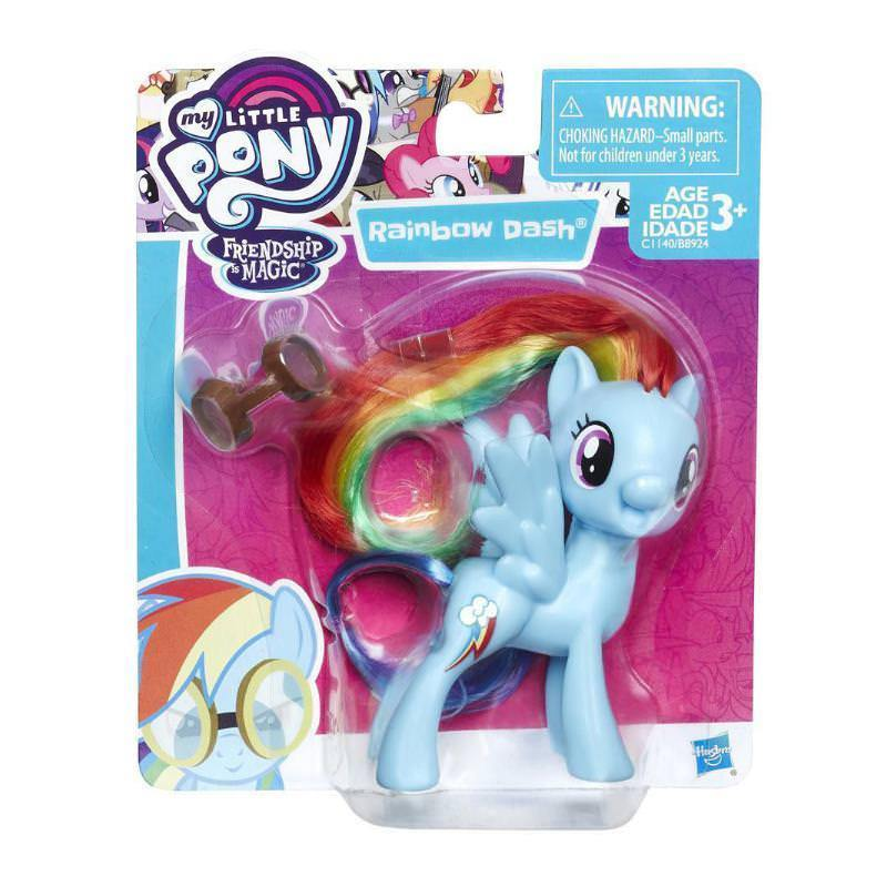 "MY LITTLE PONY FRIENDS MINI 3"" FIGURE - RAINBOW DASH"