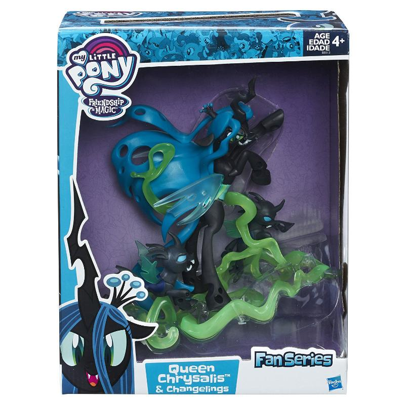 "MY LITTLE PONY QUEEN CHRYSALIS & CHANGELINGS 9"" FIGURE"