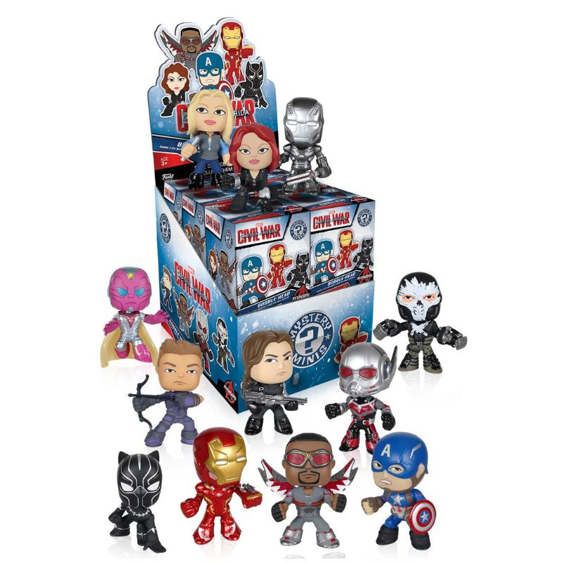 FUNKO CAPTAIN AMERICA MYSTERY MINIS BOBBLE HEAD FIGURE