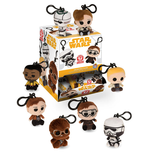 FUNKO STAR WARS SOLO MYSTERY MINIS PLUSHIES