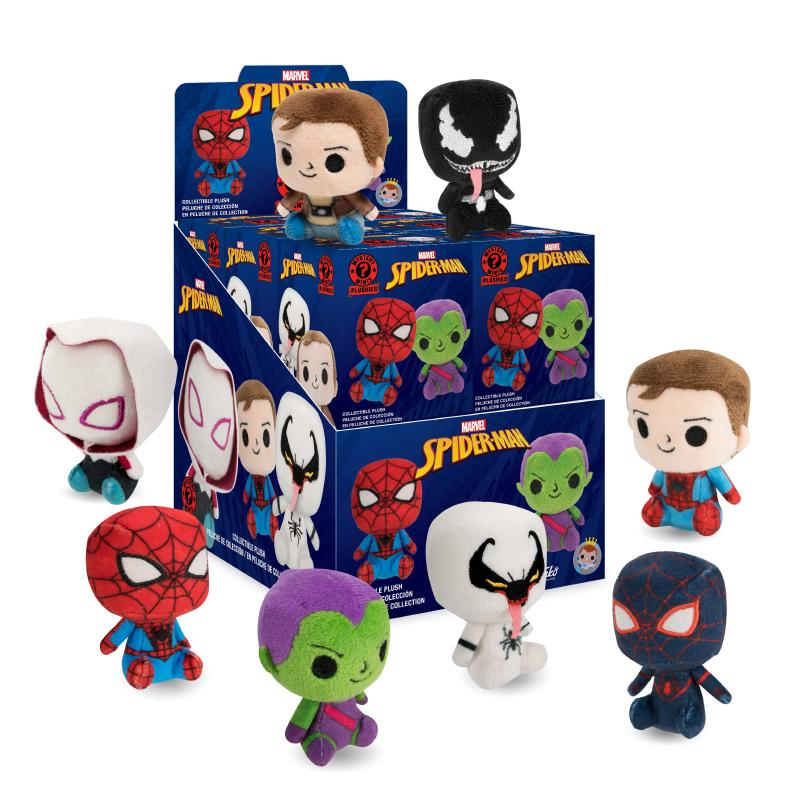 FUNKO SPIDERMAN MYSTERY MINIS COLLECTIBLE PLUSH