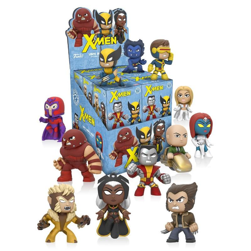 FUNKO X-MEN MYSTERY MINIS VINYL BOBBLE HEAD FIGURE