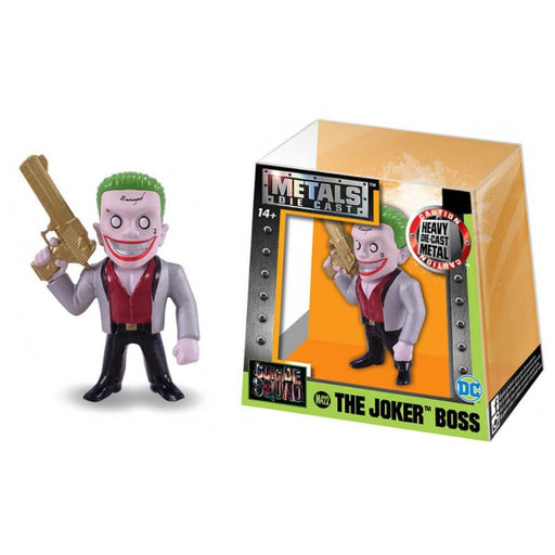 "METALFIGS DC SUICIDE SQUAD JOKER BOSS 2.5"" JADA FIGURE"