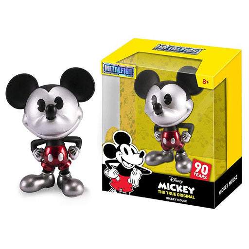 "METALFIGS DISNEY MICKEY MOUSE ORIGINAL 90 YEARS 4"" FIGURE"