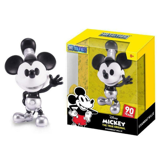 "METALFIGS DISNEY MICKEY TRUE ORIGINAL STEAMBOAT WILLIE 4"" FIGURE"