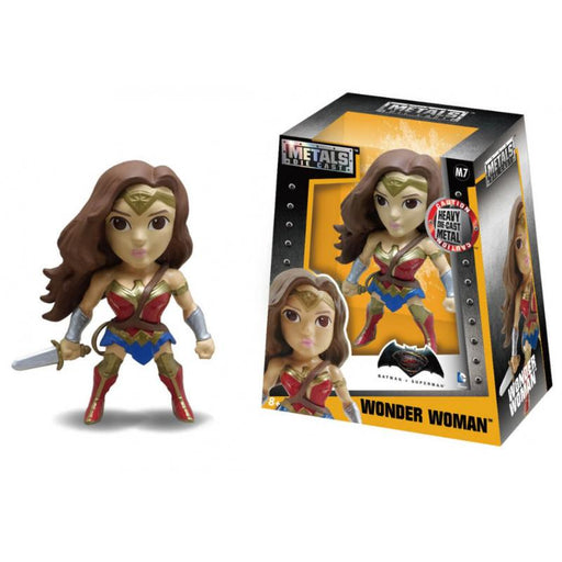 "MetalFigs DC BVS Wonder Woman 4"" Jada Figure"