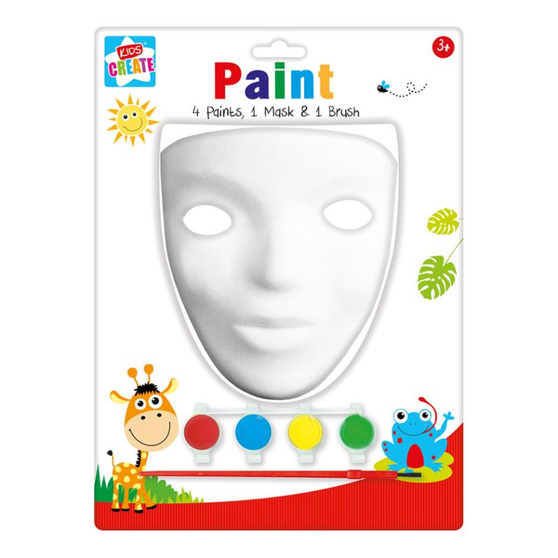 KIDS CREATE PAINT YOUR OWN MASK