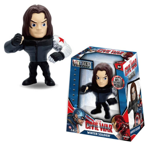 "METALFIGS CIVIL WAR WINTER SOLDIER 4"" JADA FIGURE"