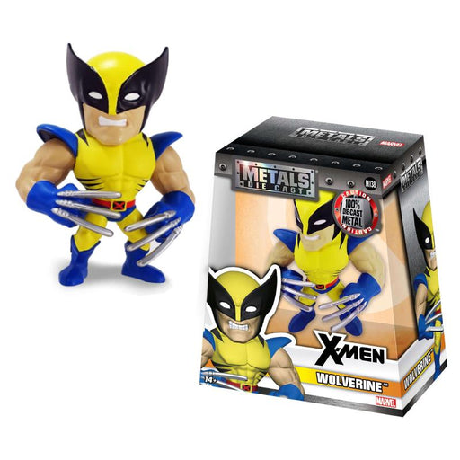 "METALFIGS X-MEN WOLVERINE 4"" JADA FIGURE"