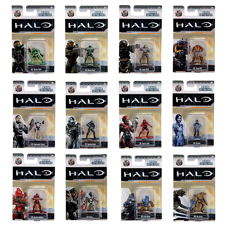 "HALO NANO METALFIGS 1.65"" DIE-CAST MINI FIGURE"