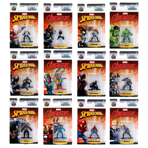 "MARVEL COMICS NANO METALFIGS 1.65"" DIE-CAST MINI FIGURE"