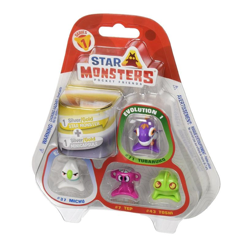 STAR MONSTERS POCKET FRIENDS