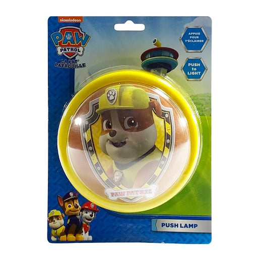 PAW PATROL RUBBLE PUSH LIGHT