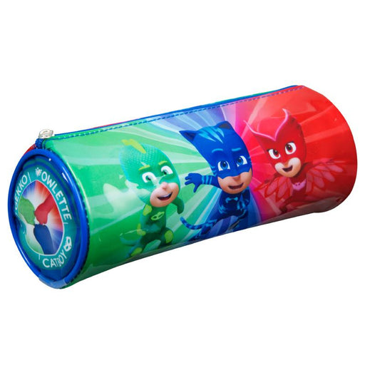 PJ MASKS BARREL PENCIL CASE