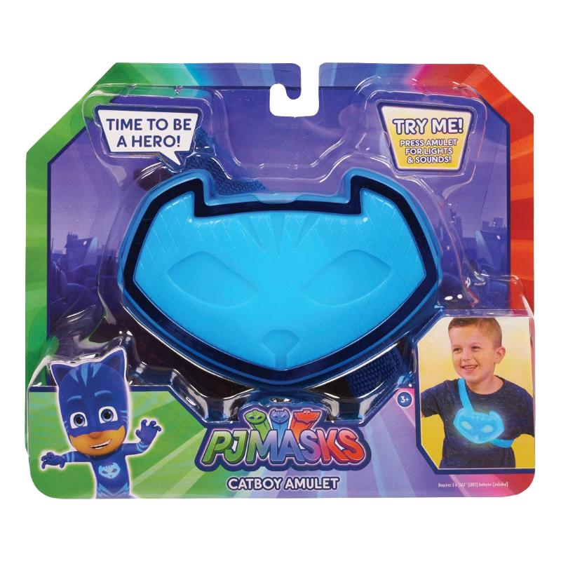 PJ MASKS LIGHT & SOUND AMULET ROLE PLAY TOY - CATBOY