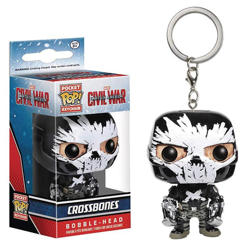 FUNKO POCKET POP MARVEL CIVIL WAR CROSSBONES KEYCHAIN