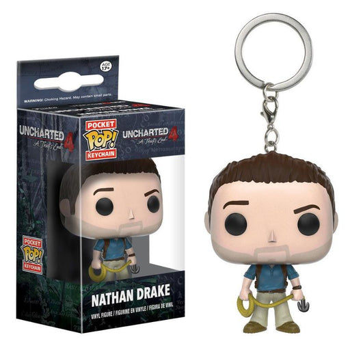 FUNKO POCKET POP UNCHARTERED 4 NATHAN DRAKE KEYCHAIN