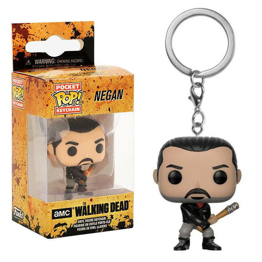 FUNKO POCKET POP THE WALKING DEAD NEGAN KEYCHAIN