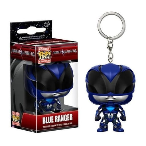 FUNKO POCKET POP POWER RANGERS BLUE RANGER FIGURE KEYCHAIN