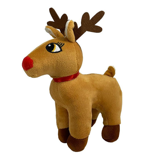 "REINDEER  8"" SOFT PLUSH TOY"