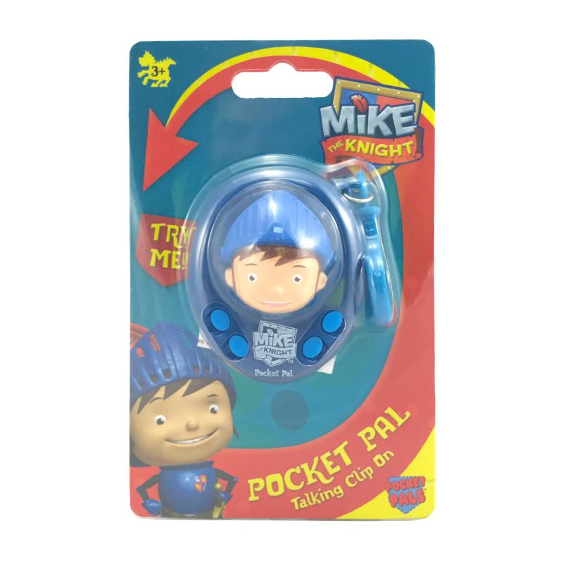 MIKE THE KNIGHT POCKET PAL TALKING CLIP ON