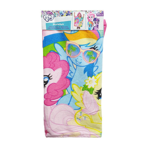 MY LITTLE PONY BATH PONCHO 50X100CM QUICK DRY TOWEL