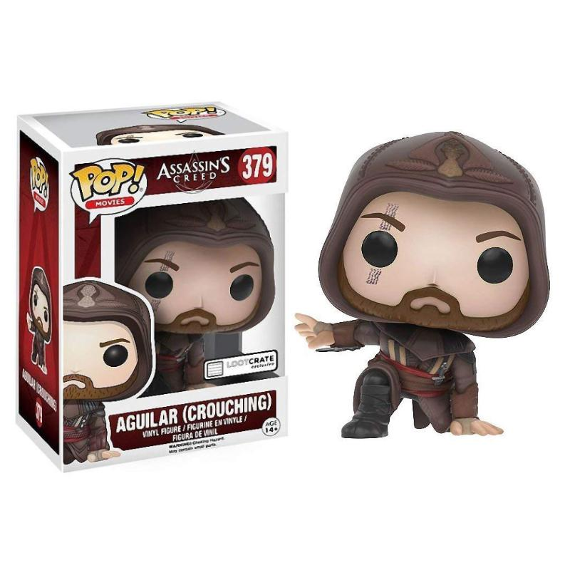 FUNKO POP ASSASSINS CREED CROUCHING AGUILAR VINYL FIGURE