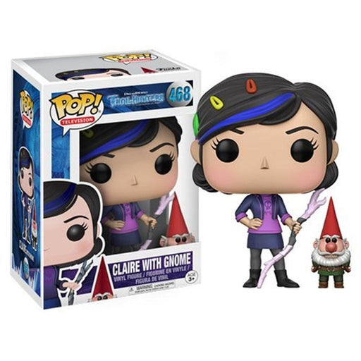 FUNKO POP TROLLHUNTERS CLARE WITH GNOME VINYL FIGURE