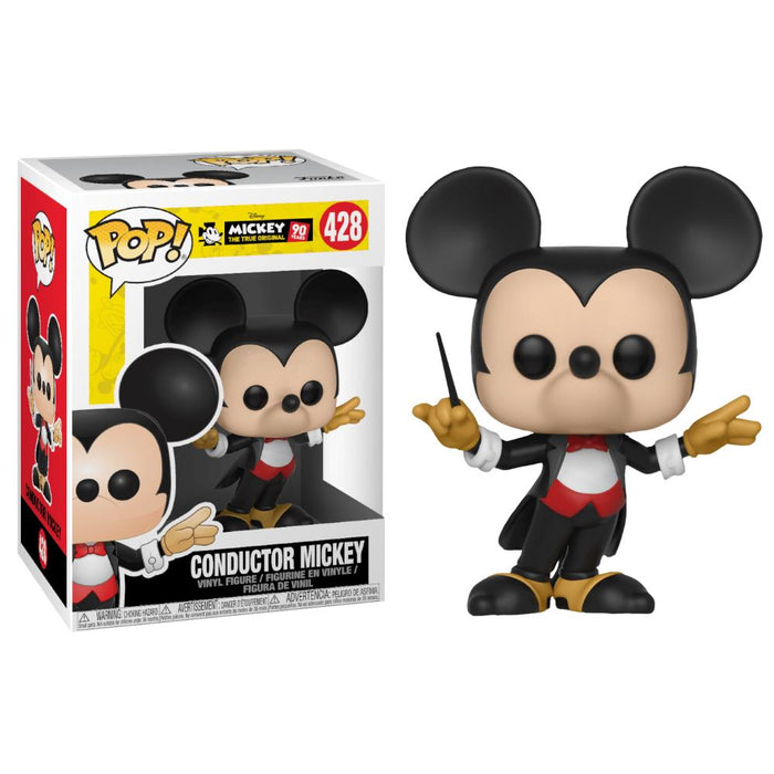 FUNKO POP DISNEY TRUE ORIGINAL CONDUCTOR MICKEY VINYL FIGURE