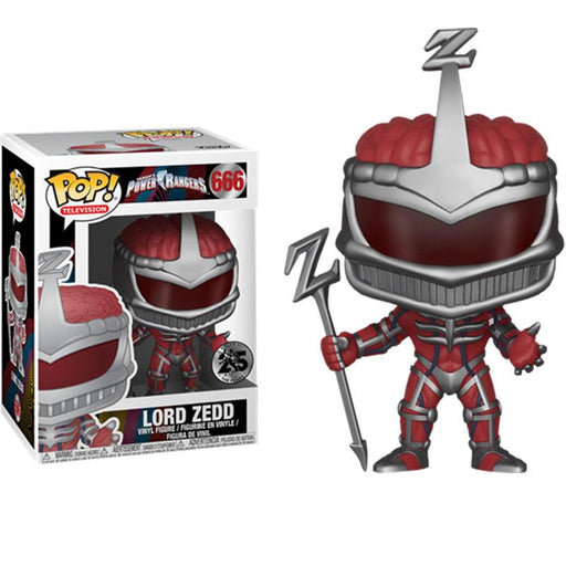 FUNKO POP POWER RANGERS LORD ZEDD VINYL FIGURE