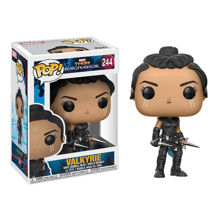 FUNKO POP RAGNAROK VALKYRIE BOBBLE HEAD VINYL FIGURE