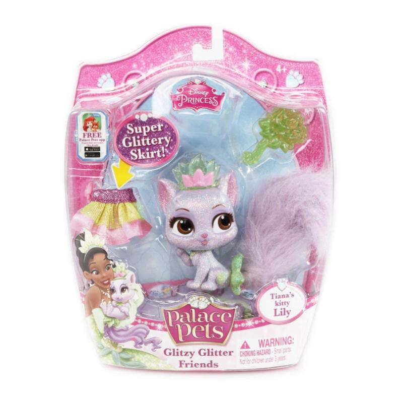 "DISNEY PALACE PETS GLITZY GLITTER FRIENDS 3"" FIGURE - LILY"