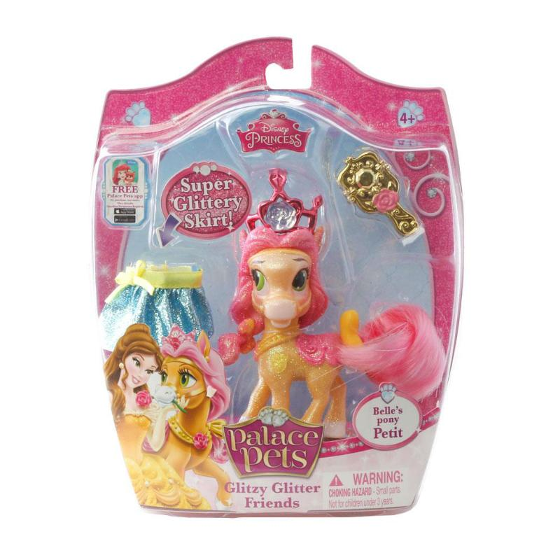 "DISNEY PALACE PETS GLITZY GLITTER FRIENDS 3"" FIGURE - PETITE"