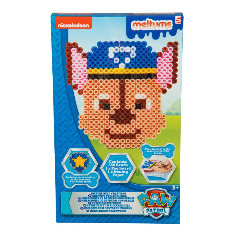 PAW PATROL MELTUMS 550PC BEAD CREATIONS SET