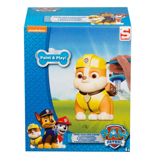 PAW PATROL PAINT YOUR OWN FIGURE - RUBBLE