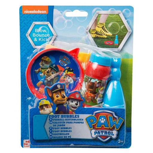 PAW PATROL BLOW BOUNCE & KICK FOOT BUBBLES