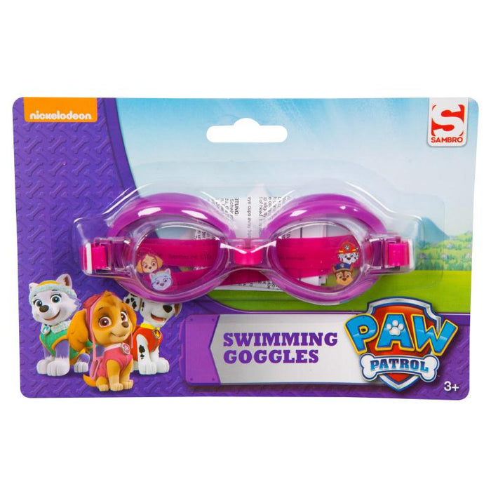 PAW PATROL PINK SWIMMING GOGGLES