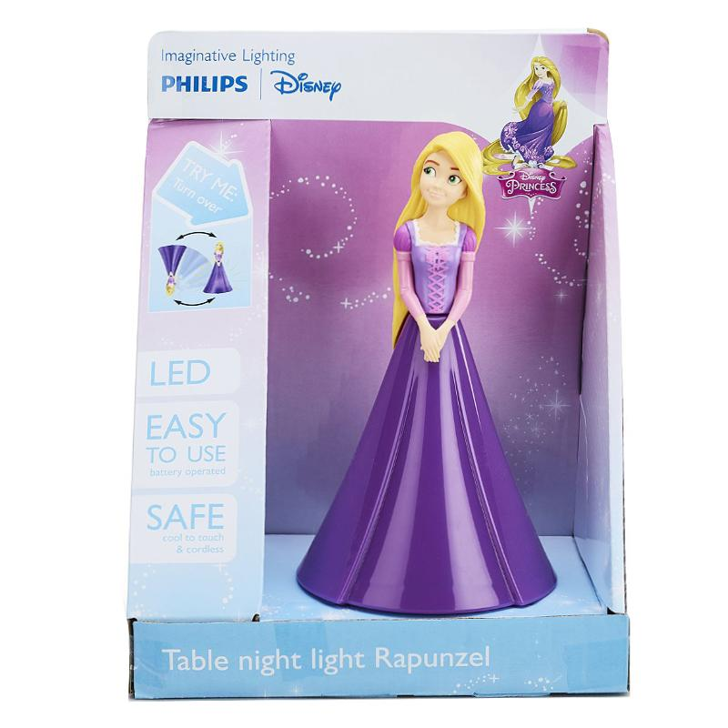PHILIPS DISNEY PRINCESS RAPUNZEL LED TABLE NIGHT LIGHT